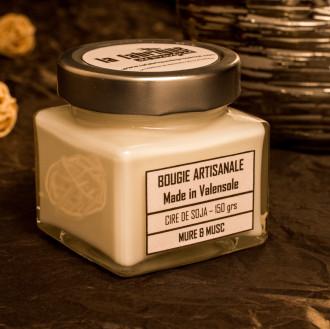 BOUGIE ARTISANALE MURE & MUSC 150 GRS